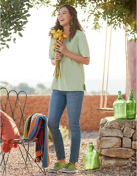 Deerberg Slim-Fit-Jeans Philana