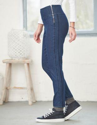 Deerberg Slim-Fit-Jeans Zadia dark-denim