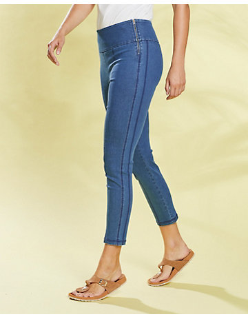 Deerberg Slim-Fit-Jeans Zadia mid-denim