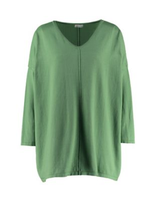 Deerberg Pullover Lizall grasgrün