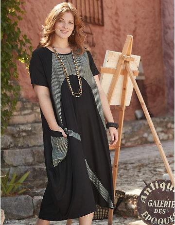 Deerberg Jersey-Kleid Odalinde schwarz