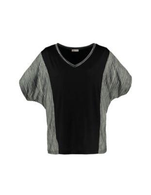 Deerberg Jersey-Shirt Alvhilde schwarz