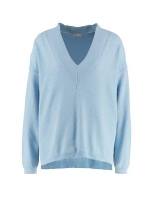 Deerberg Pullover Yella puderblau