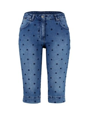 Deerberg Capri-Jeans Merva mid-denim
