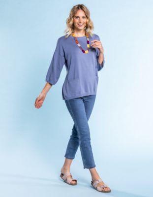 Deerberg Slim-Fit-Jeans Destine blue-bleached
