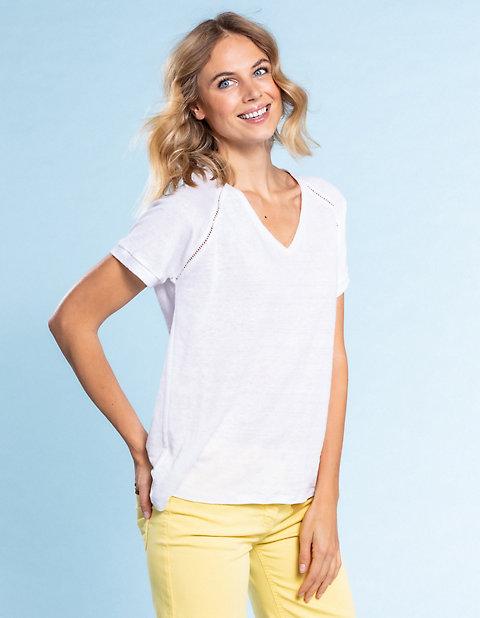Deerberg Leinenjersey-Shirt Nanon