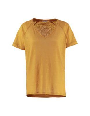 Deerberg Leinenjersey-Shirt Nanon softgelb