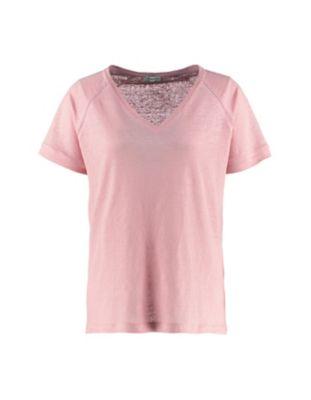 Deerberg Leinenjersey-Shirt Nanon softhimbeere