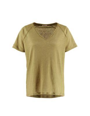 Deerberg Leinenjersey-Shirt Nanon heugrün