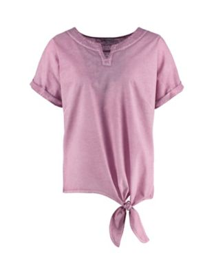 Deerberg Leinenjersey-Shirt Delisa heiderose-washed