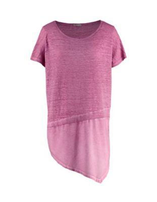 Deerberg Leinenjersey-Shirt Ederna heiderose-washed