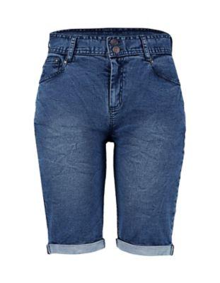Deerberg Jeans-Bermudas Banah washed-denim