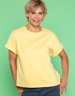 Deerberg Jersey-Shirt Rosika sonnengelb