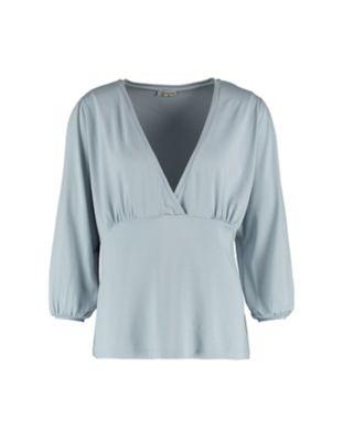 Deerberg Jersey-Shirt Anjuta blassblau