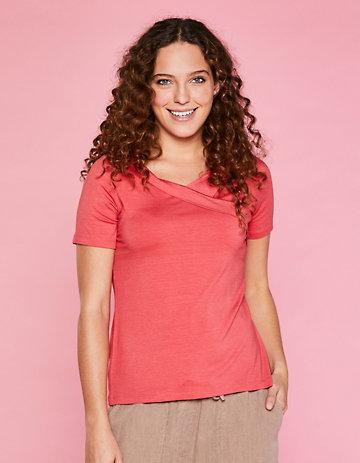 Deerberg Jersey-Shirt Barbora erdbeereis