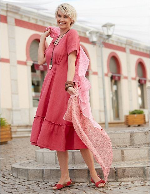 Deerberg Leinen-Kleid Mariette