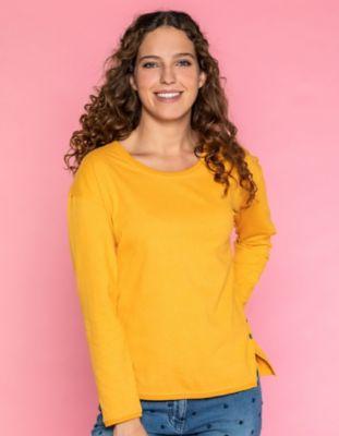 Deerberg Jersey-Shirt Bilah butterkeks-melange