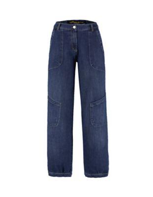 Deerberg Relaxed-Fit Jeans Babette Bio dark-denim