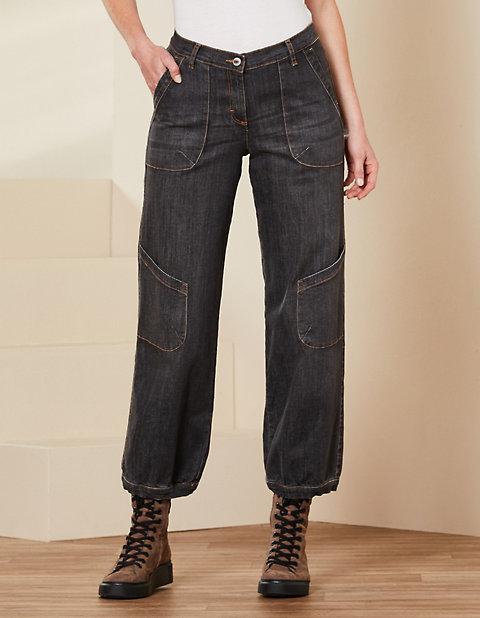 Deerberg Relaxed-Fit-Jeans Babette Bio