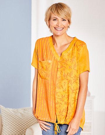 Deerberg Shirt Eunike orange