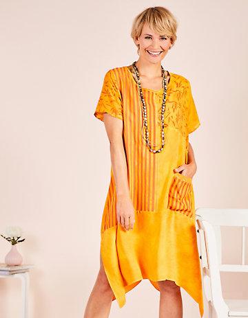 Deerberg Kleid Gudela orange
