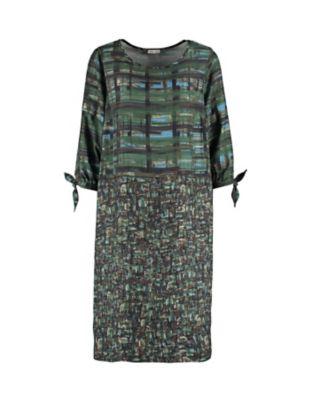 Deerberg Kleid Wina dunkelgrün