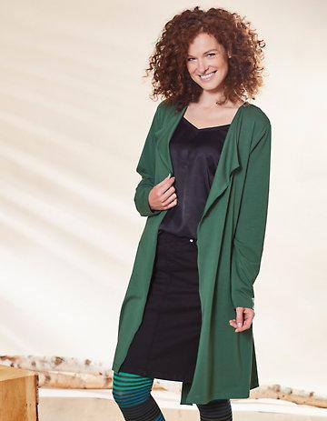Deerberg Jersey-Jacke Charissa zederngrün