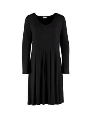 Deerberg Jersey-Kleid Bonina schwarz