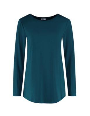 Deerberg Jersey-Shirt Agnasa antikpetrol