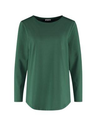 Deerberg Jersey-Shirt Agnasa zederngrün