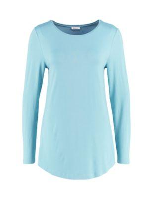 Deerberg Jersey-Shirt Agnasa topasblau