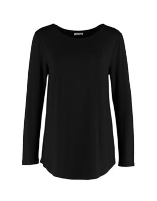 Deerberg Jersey-Shirt Agnasa schwarz