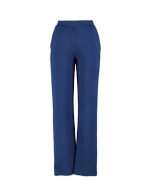 Deerberg Jersey-Hose Danetta dunkelblau