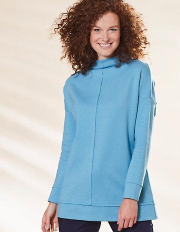 Deerberg Jersey-Shirt Majella pooltürkis