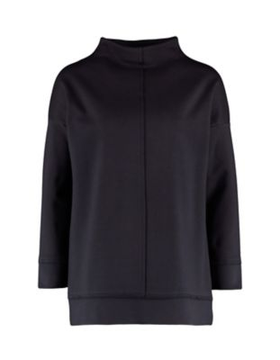 Deerberg Jersey-Shirt Majella schwarz