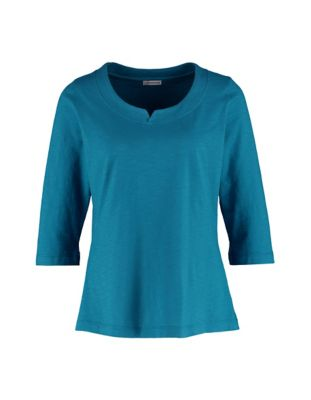 Deerberg Jersey-Shirt Fayna petrol