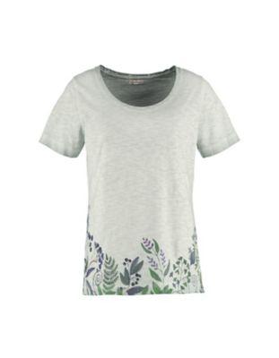 Deerberg Jersey-Shirt Danka kupfergrün-washed