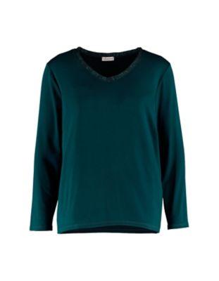Deerberg Lurex-Shirt Narmin tanne