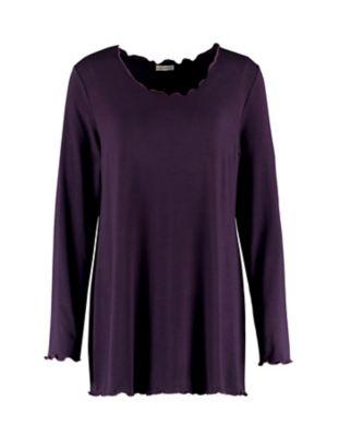 Deerberg Shirt Berlind lila-melange