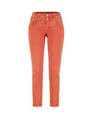 Deerberg Slim-Fit-Jeans Saroja chili-washed