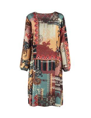Deerberg Kleid Teresina bunt