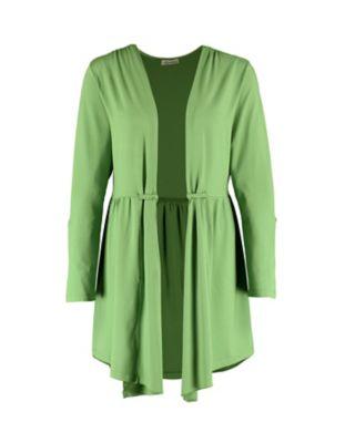 Deerberg Jersey-Jacke Yolaine grasgrün