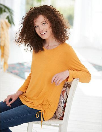 Deerberg Jersey-Shirt Yusra herbstgold