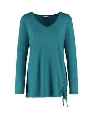 Deerberg Jersey-Shirt Yusra libellenblau