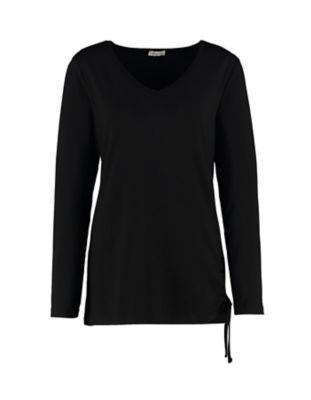 Deerberg Jersey-Shirt Yusra schwarz