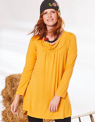 Deerberg Jersey-Tunika Rachil herbstgold