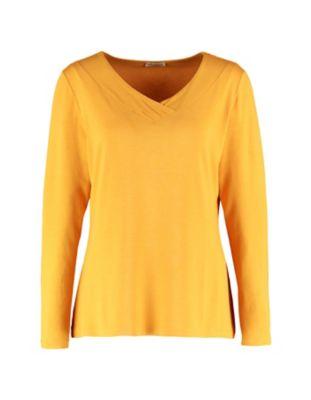 Deerberg Jersey-Shirt Leelou herbstgold