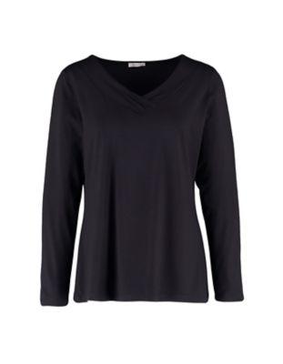 Deerberg Jersey-Shirt Leelou schwarz