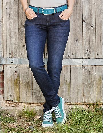 Deerberg Slim-Fit-Jeans Sinia dark-denim