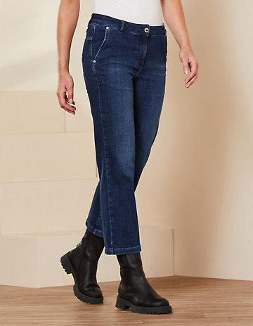 Deerberg 7/8-Jeans Waike dark-denim